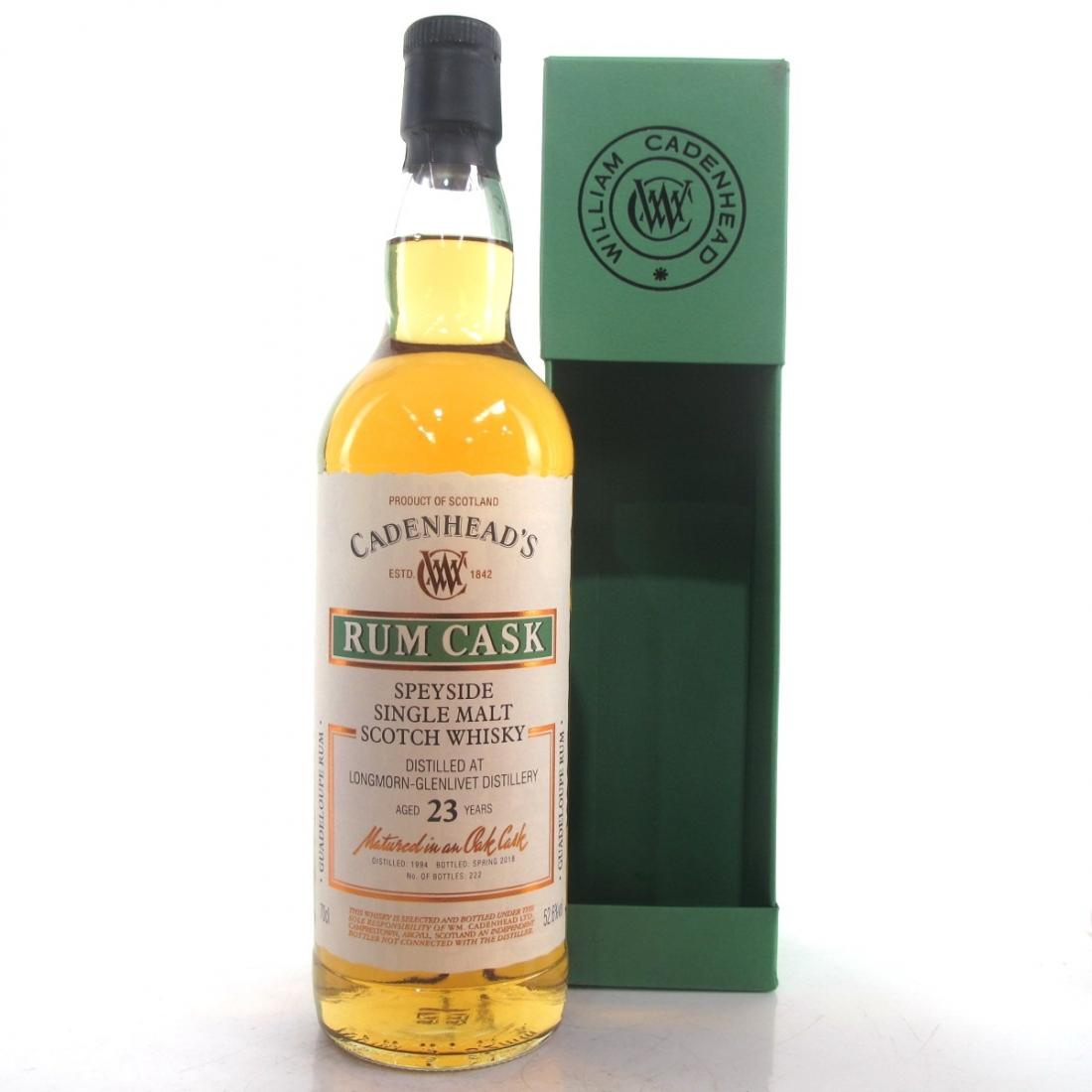 Longmorn 1994 Cadenhead's 23 Year Old Rum Cask