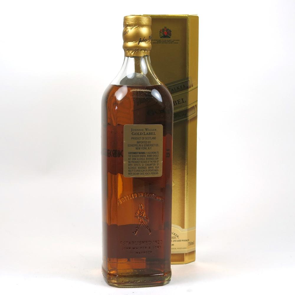 Johnnie Walker Gold label 18 Year Old 75cl