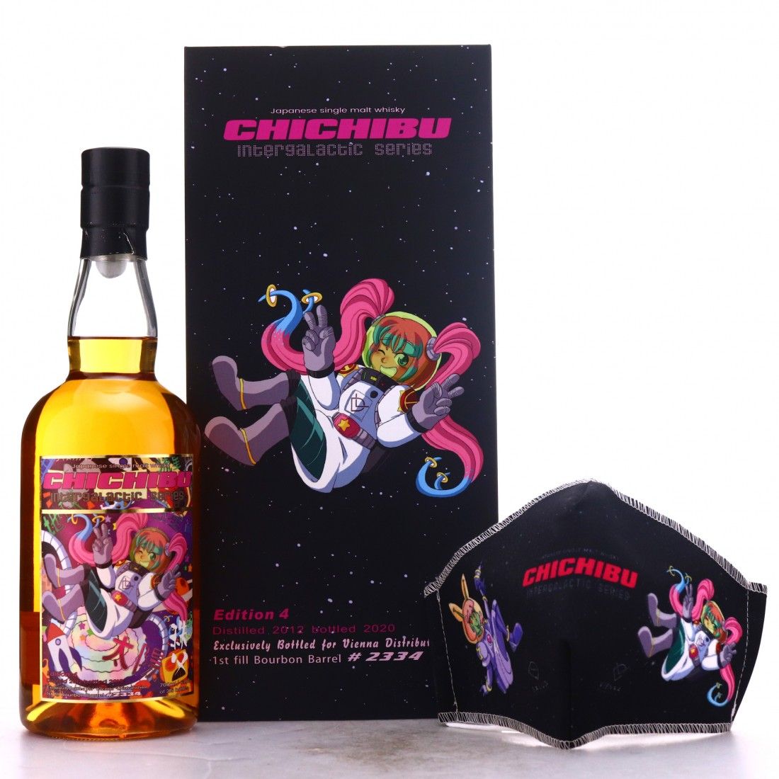 Chichibu 2012 Single Bourbon Cask #2334 / Intergalactic Edition 4