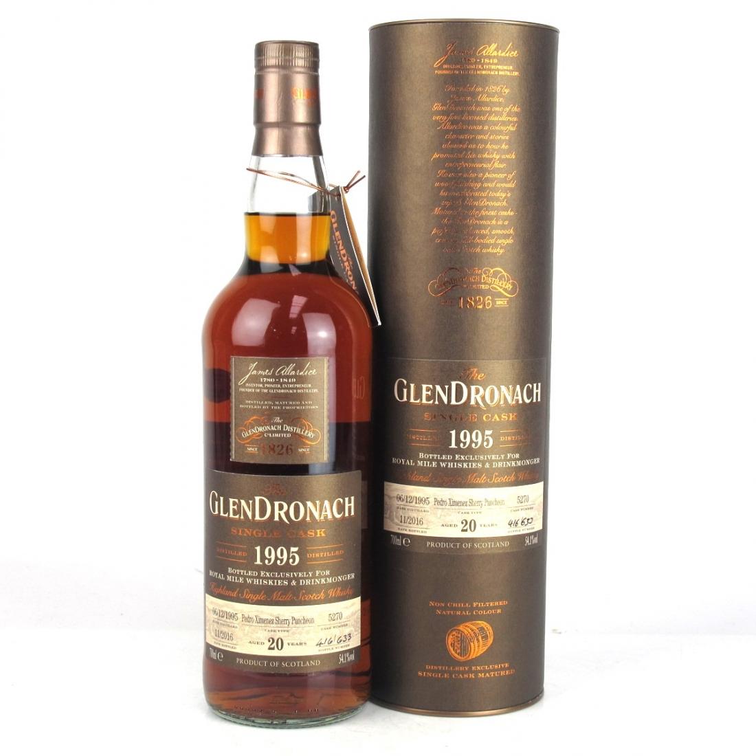 Glendronach 1995 Single Cask 20 Year Old #5270