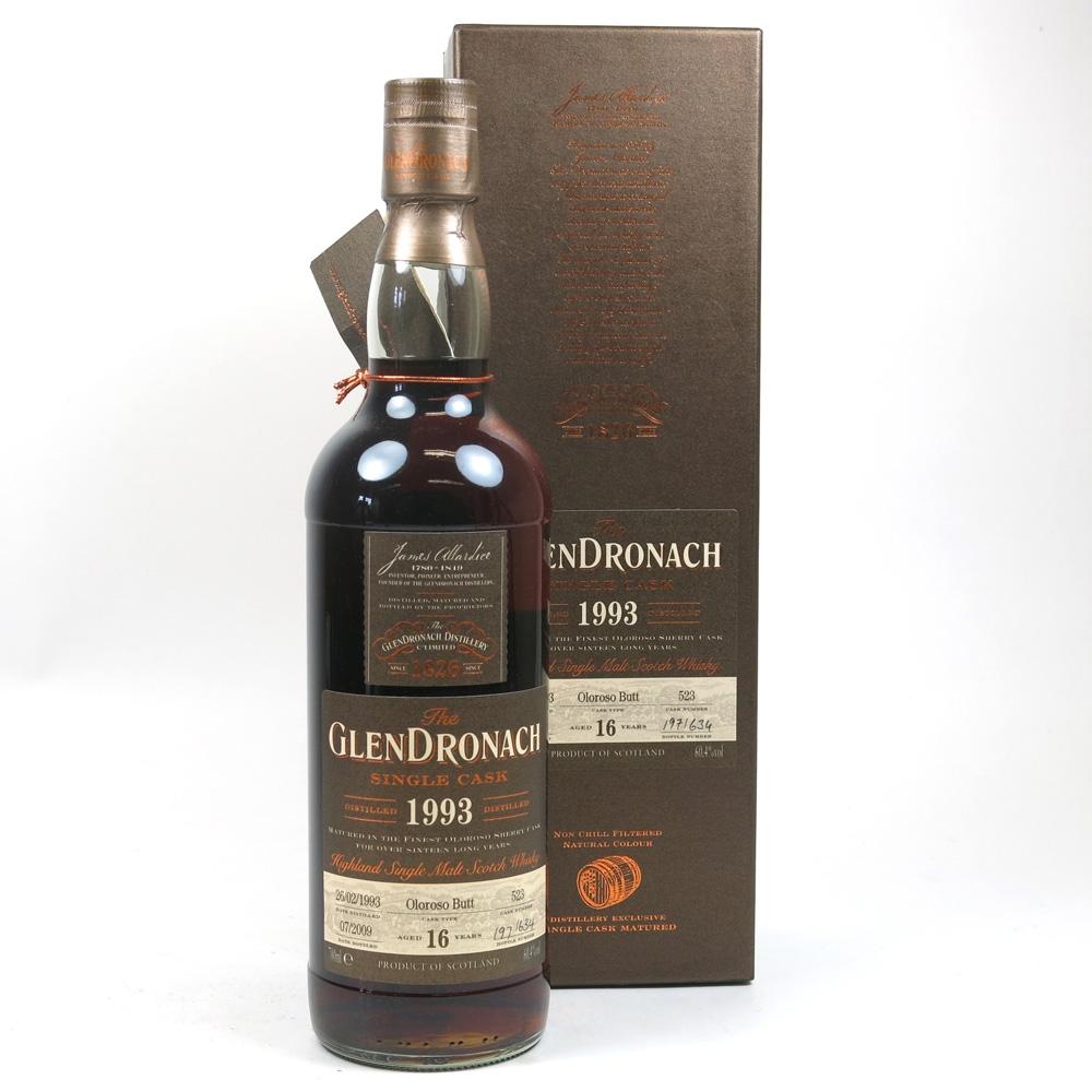 Glendronach 1993 Single Cask 16 Year Old Batch #1