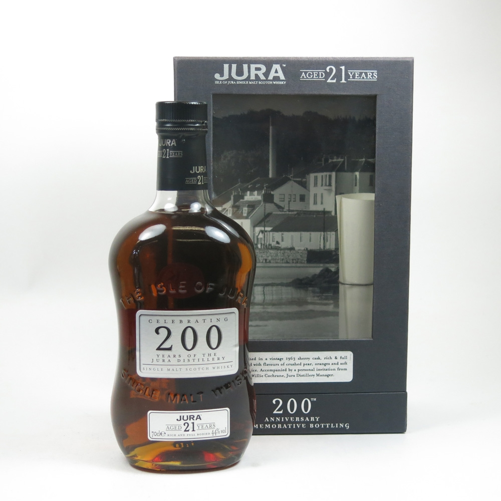 Isle of Jura 21 Year Old 200th Anniversary
