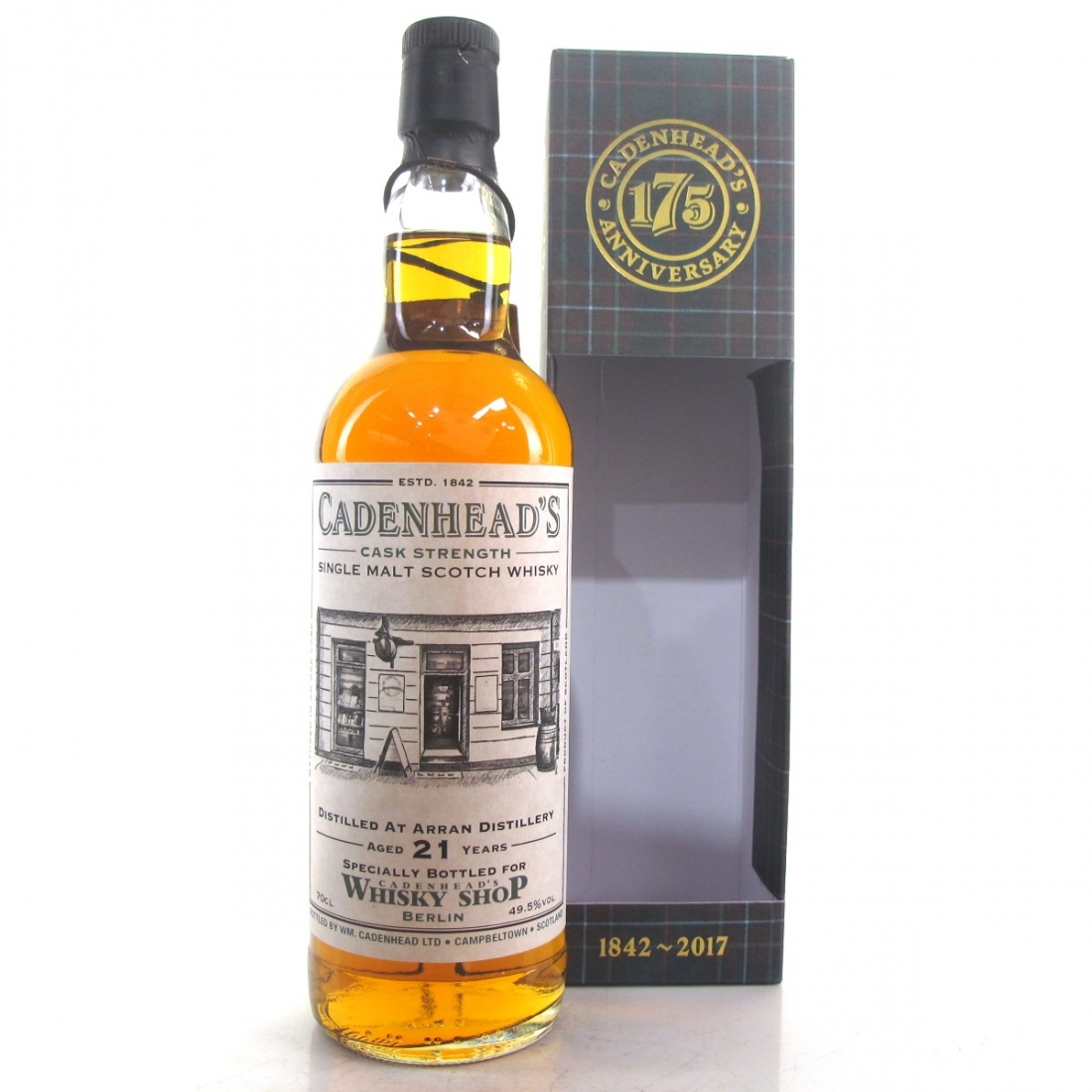 Arran 1995 Cadenhead's 21 Year Old / Berlin Shop