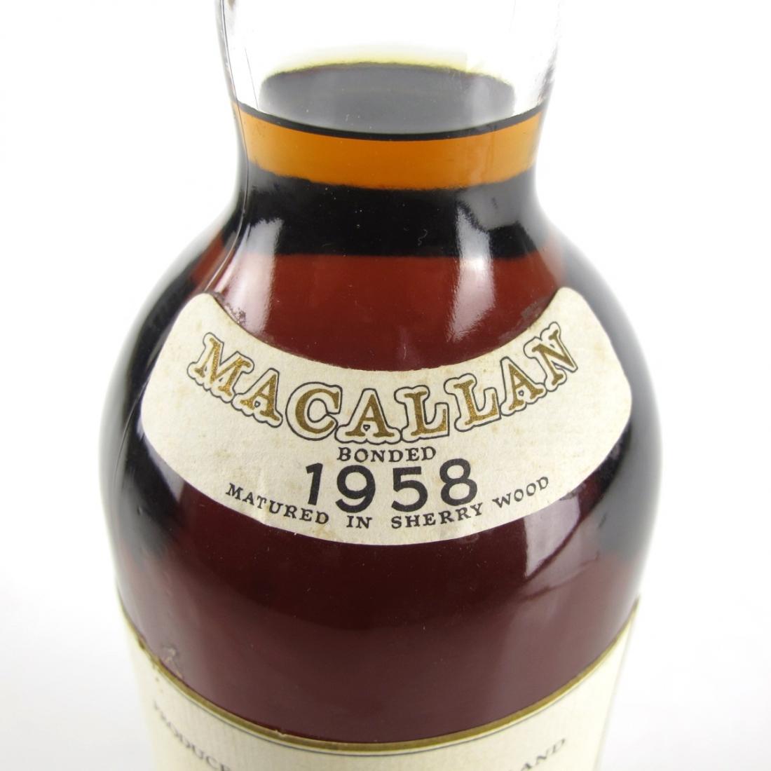 Macallan 1958 Campbell, Hope and King / Rinaldi Import