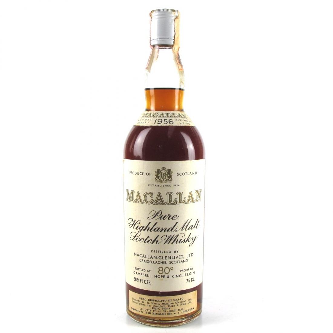 Macallan 1956 Campbell, Hope and King / Rinaldi Import