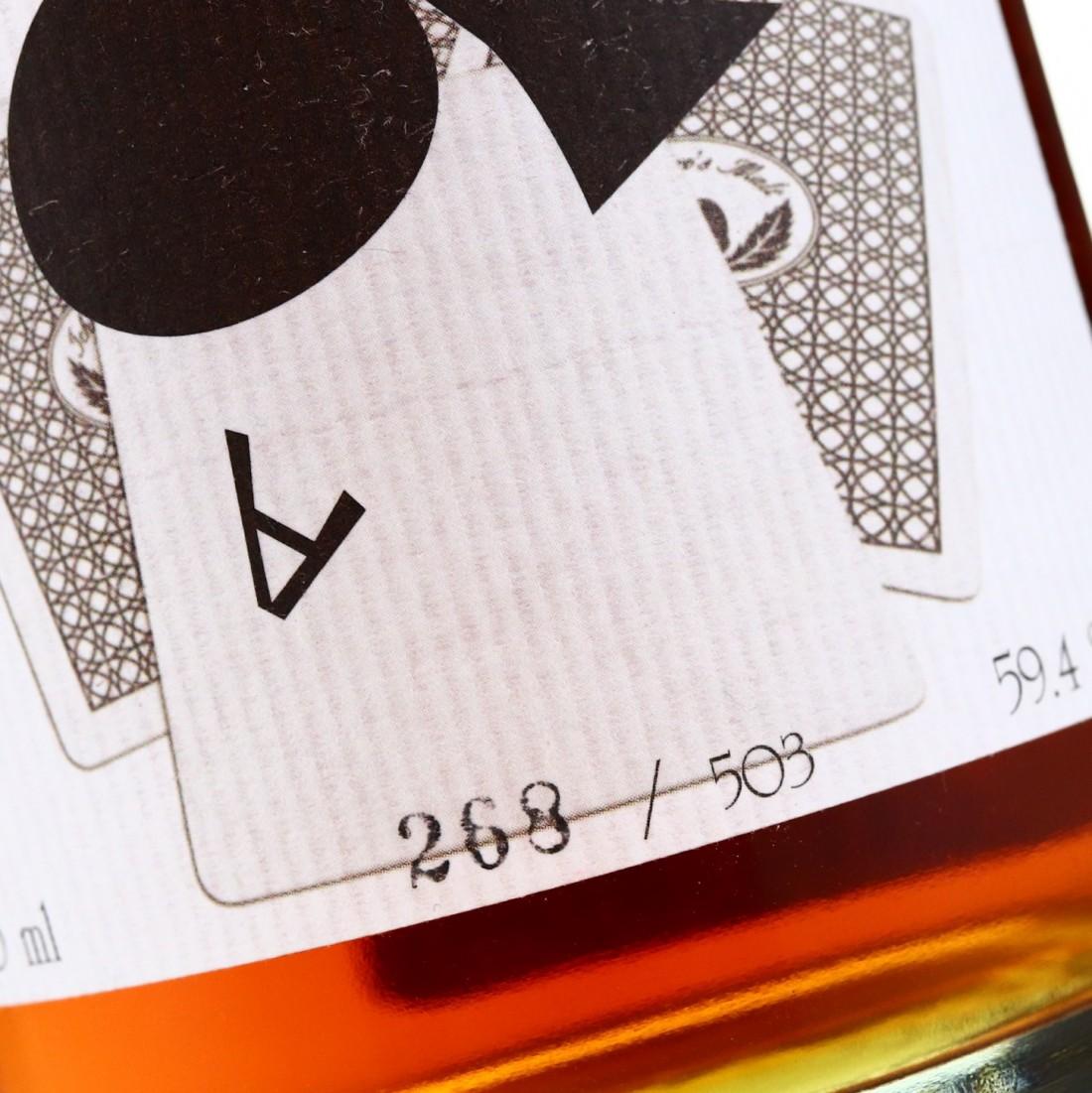 Hanyu 2000 Ichiro's Malt 'Card' #9523 / Ace of Clubs