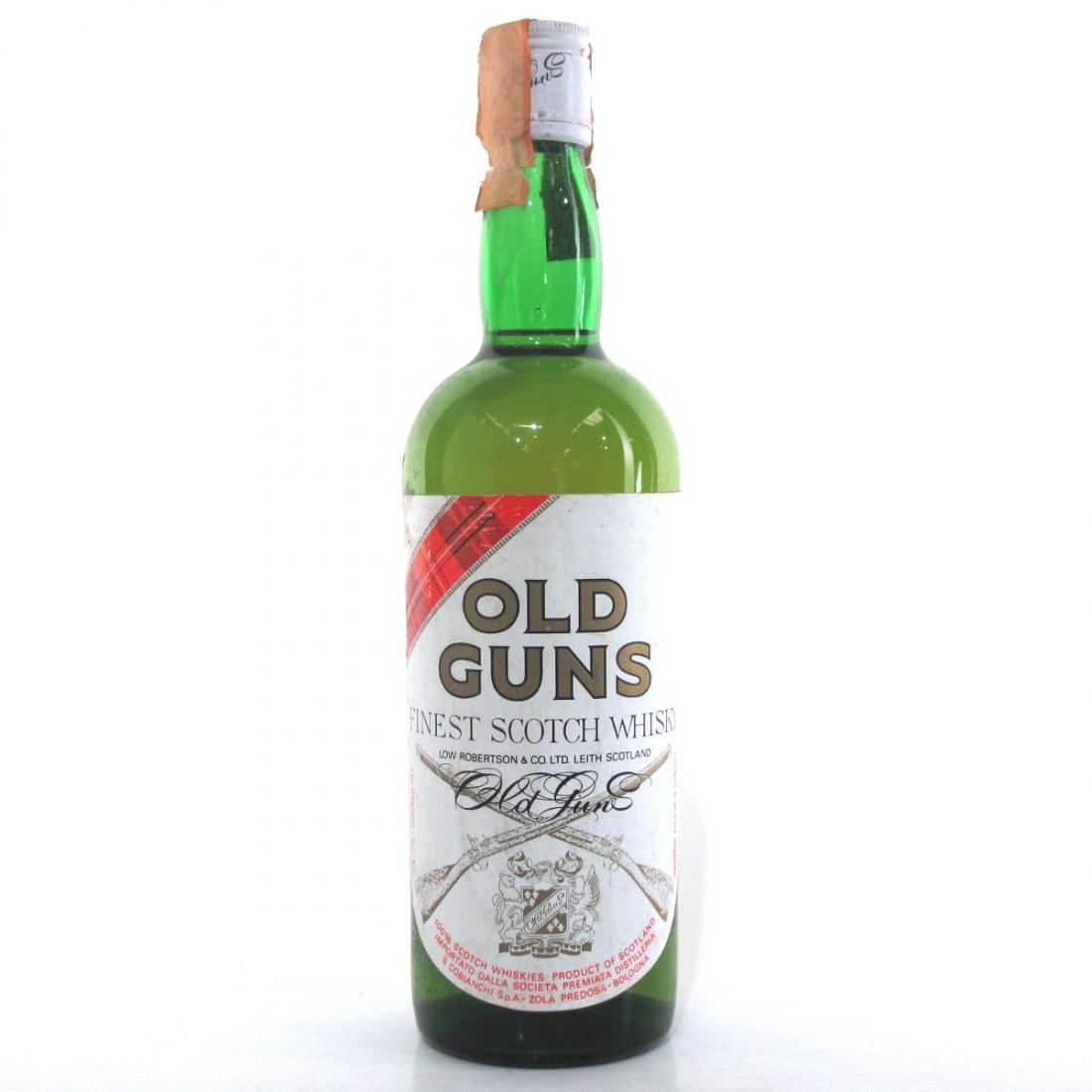 Old Guns Finest Scotch Whisky 1980s
