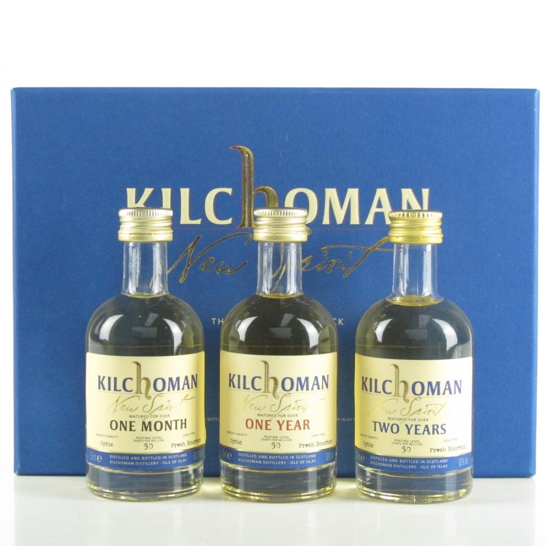 Kilchoman New Make Miniature Selection 3 x 5cl