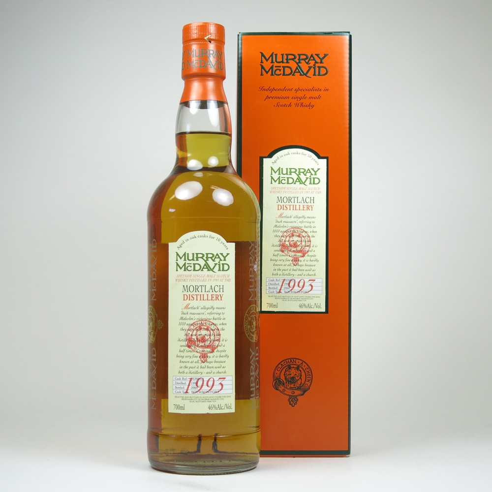 Mortlach 1993 Murray McDavid 10 Year Old