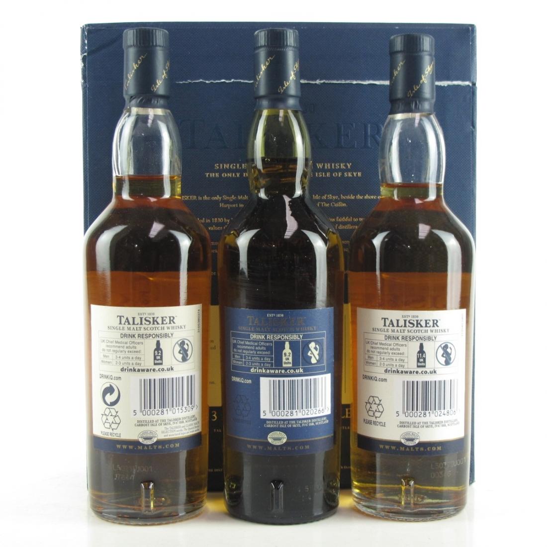 Talisker Gift Pack 3 x 20cl / Including Distillers 2003 Edition