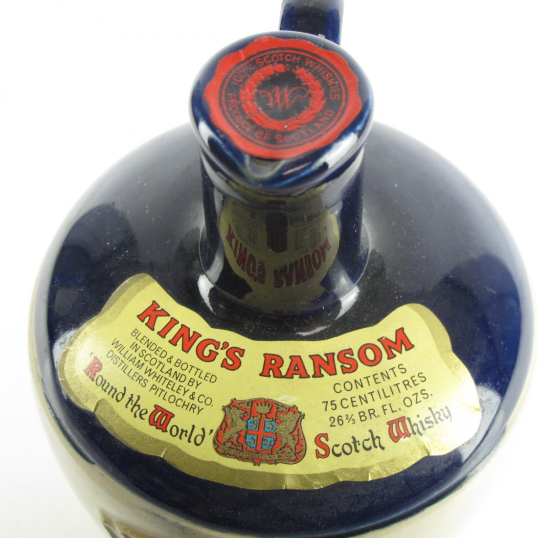 King's Ransom 'Around The World' Scotch Whisky 1970s