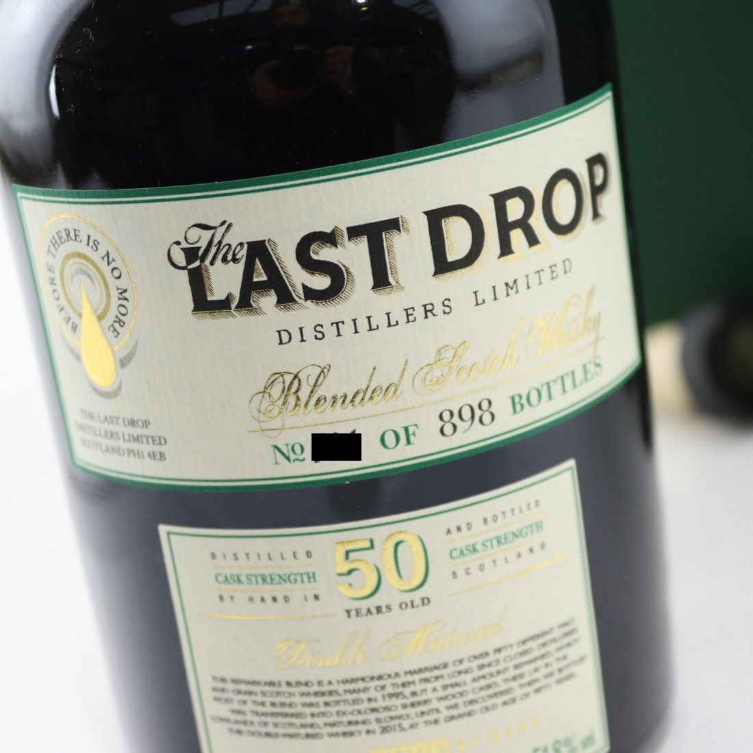 The Last Drop 50 Year Old Blend / with Miniature 5cl