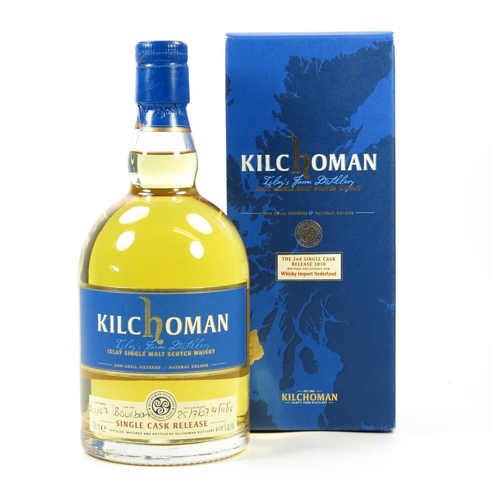 Kilchoman 2007 Whisky Import Netherland Single Cask