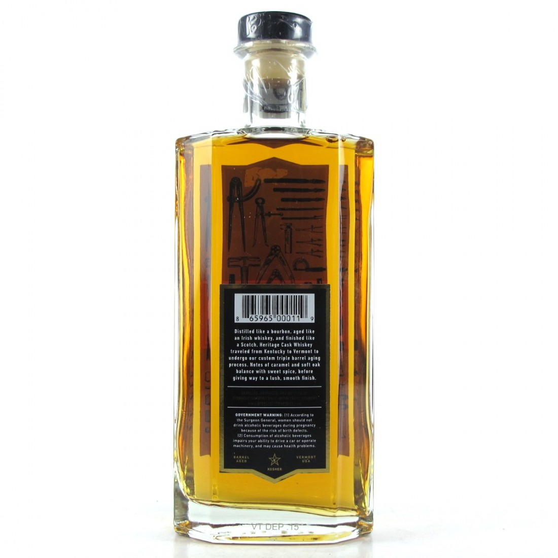 Stonecutter Heritage Cask Whiskey 4 Year Old / Cabernet Finish
