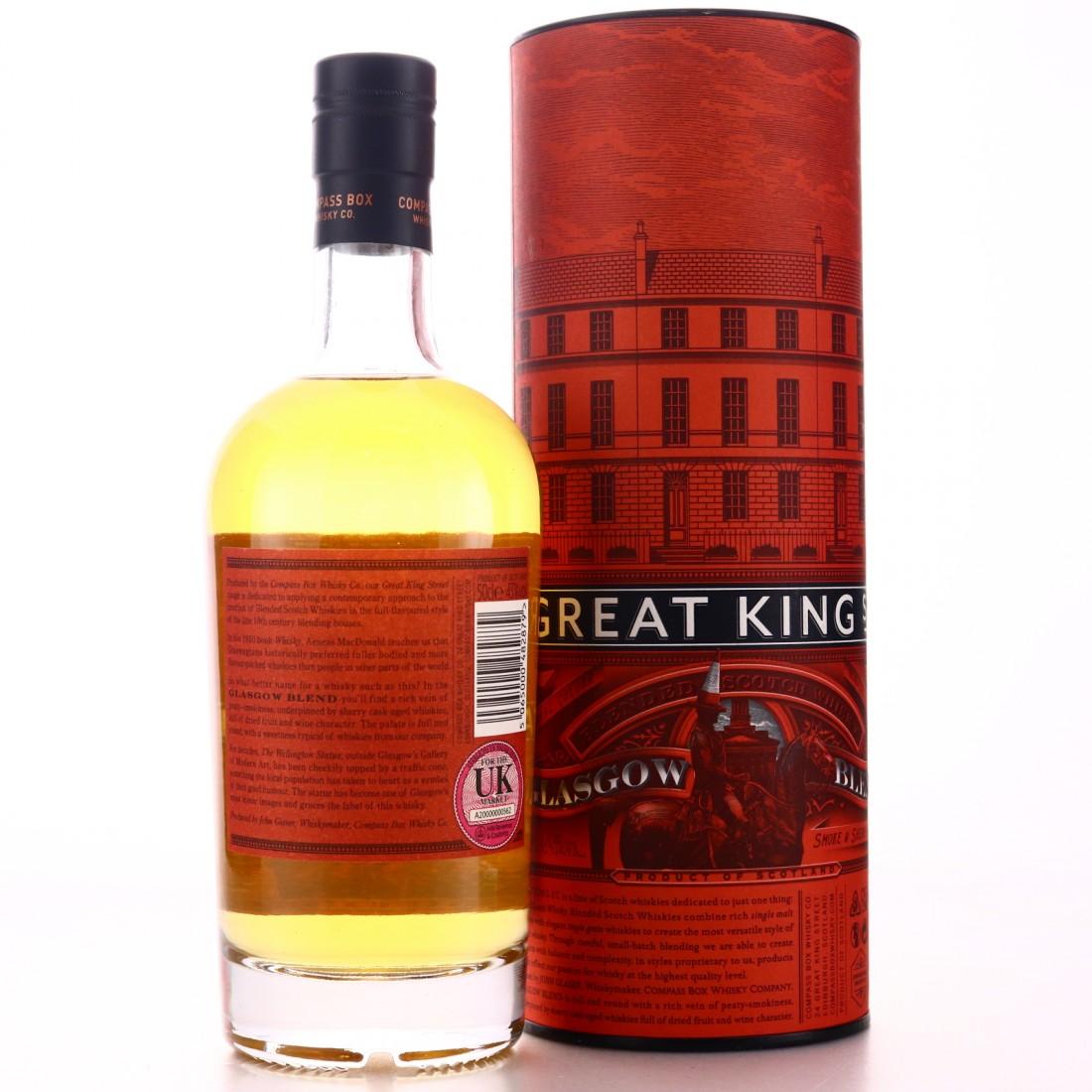 Compass Box Great King Street 50cl / Glasgow Blend
