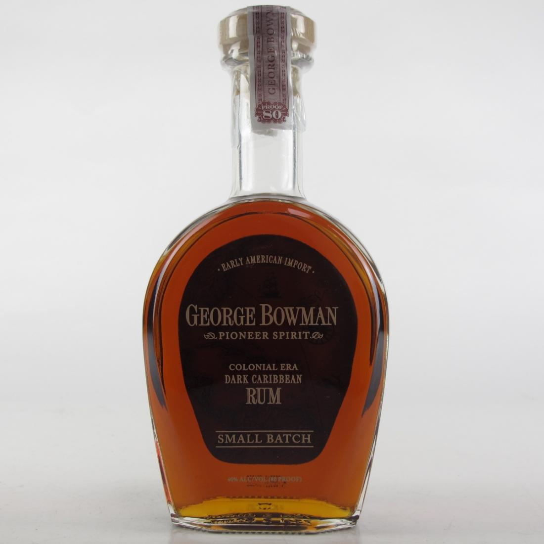 George Bowman Small Batch Caribbean Rum