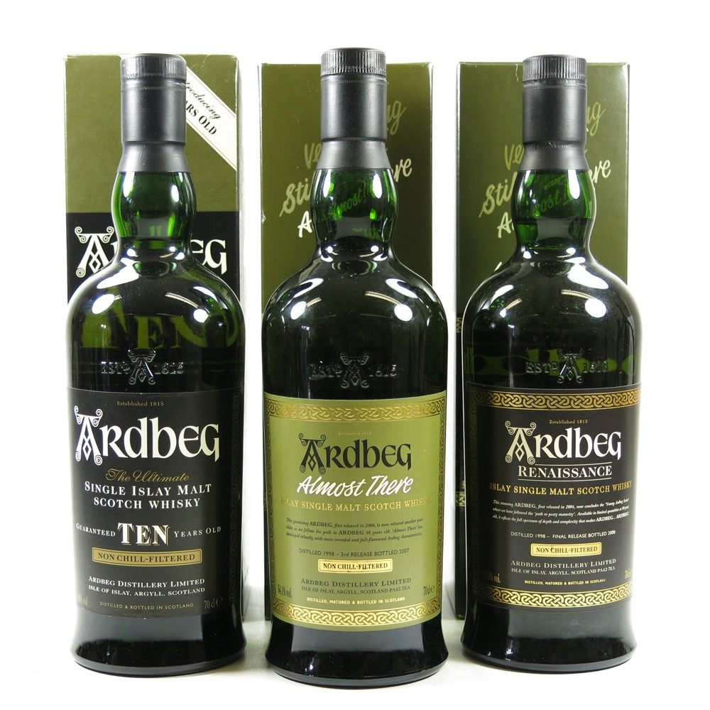 Ardbeg Path to Peaty Maurity Collection 5 x 70cl