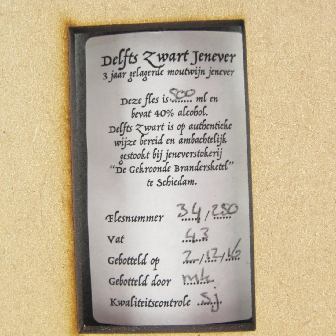 Delfts Zwart Jenever
