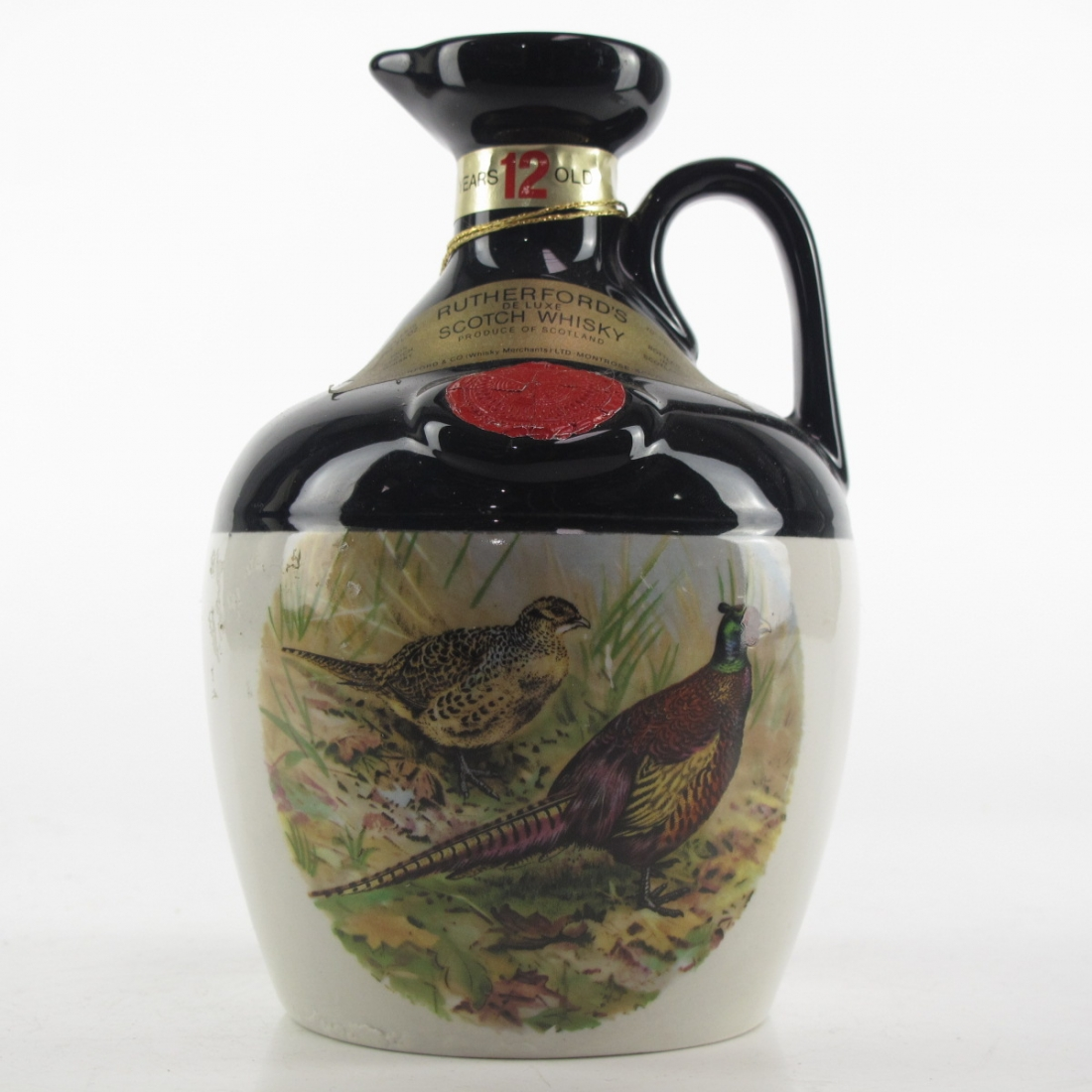 Rutherford's 12 Year Old Decanter 1970s