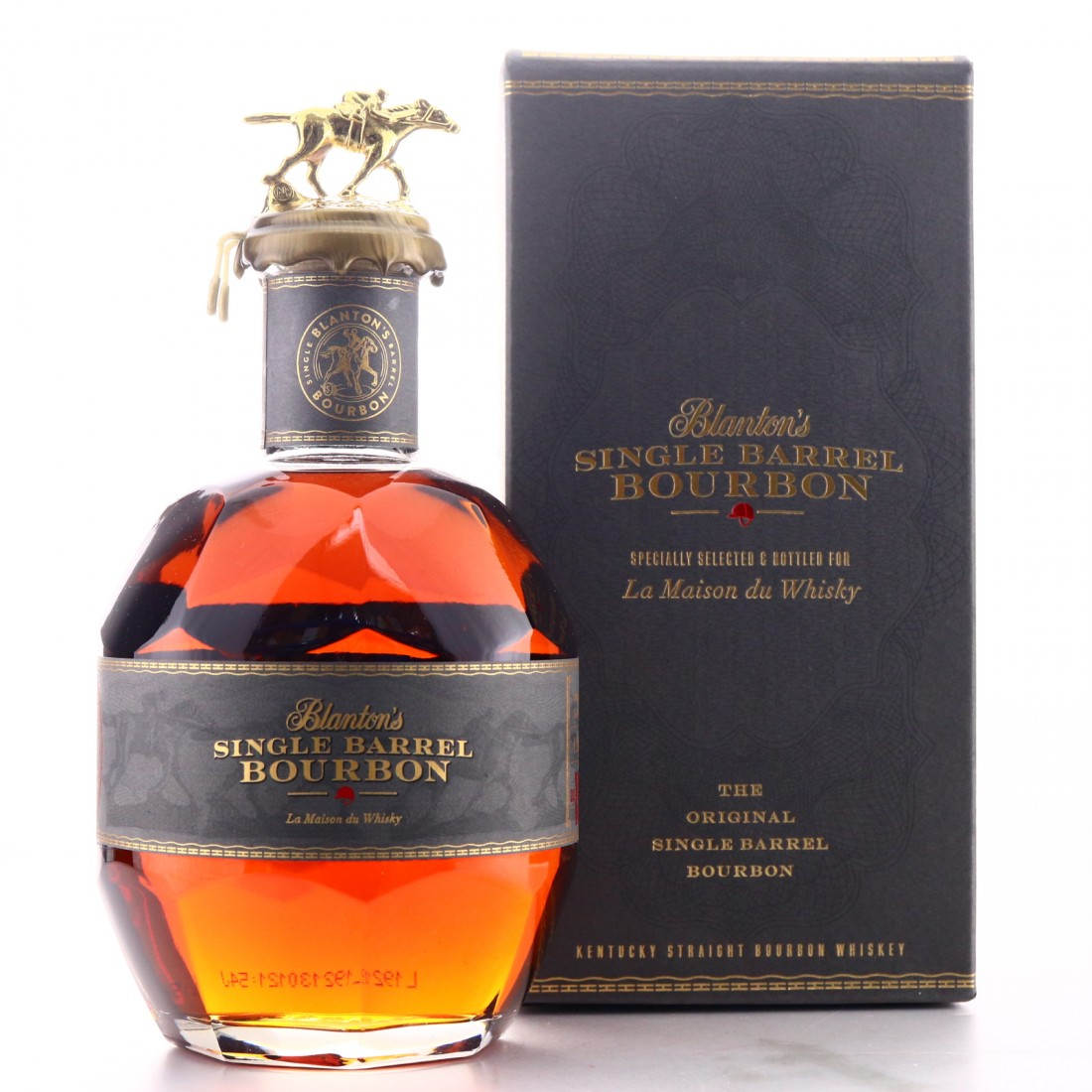 Blanton's Single Barrel Dumped 2019 Limited Edition / LMDW