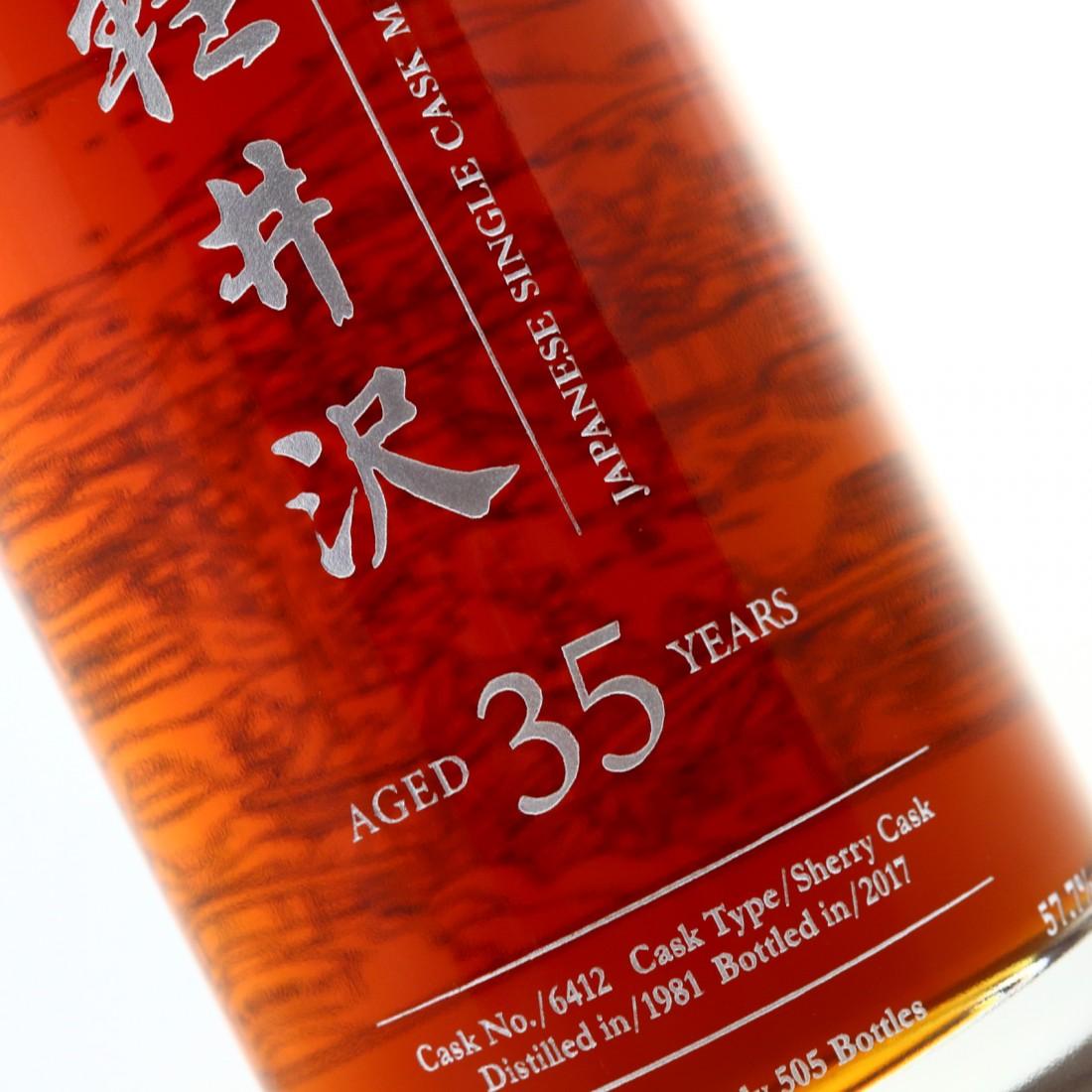 Karuizawa 1981 Single Sherry Cask 35 Year Old #6412 / Fazzino