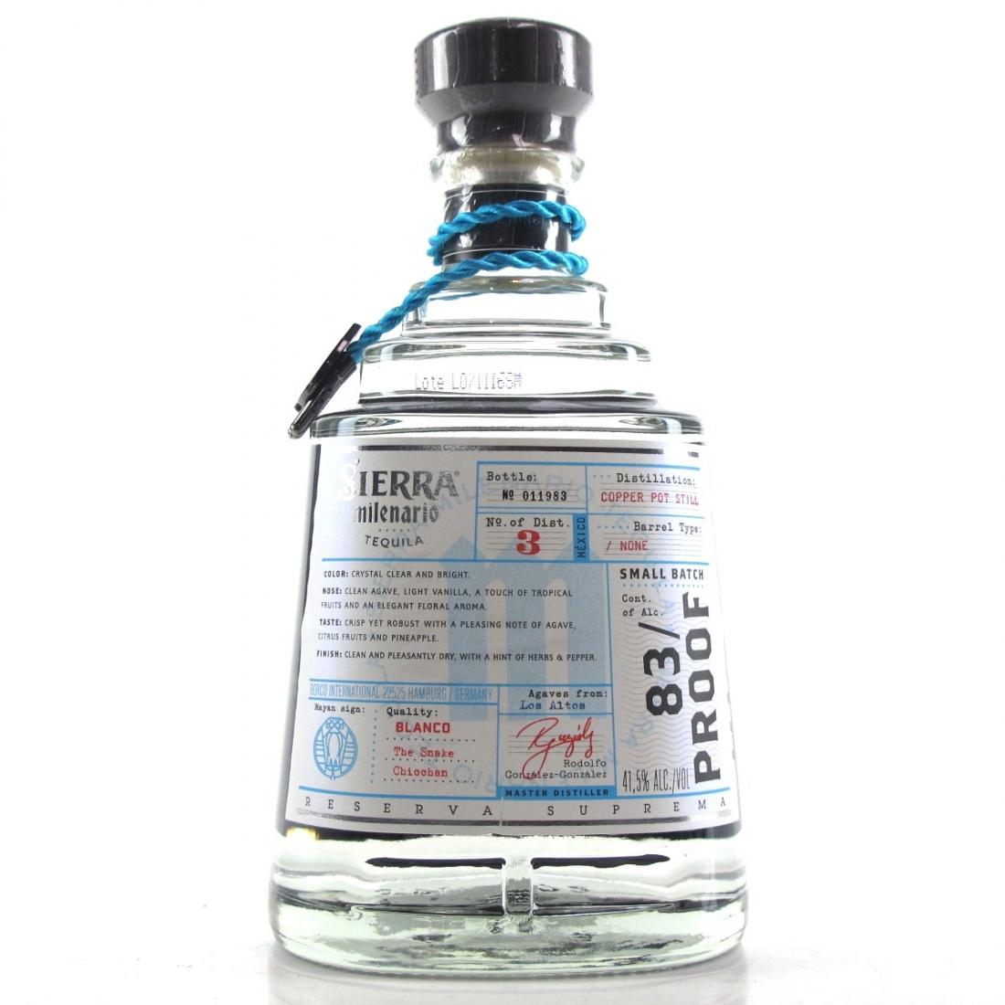 Sierra Milenario Tequila Blanco