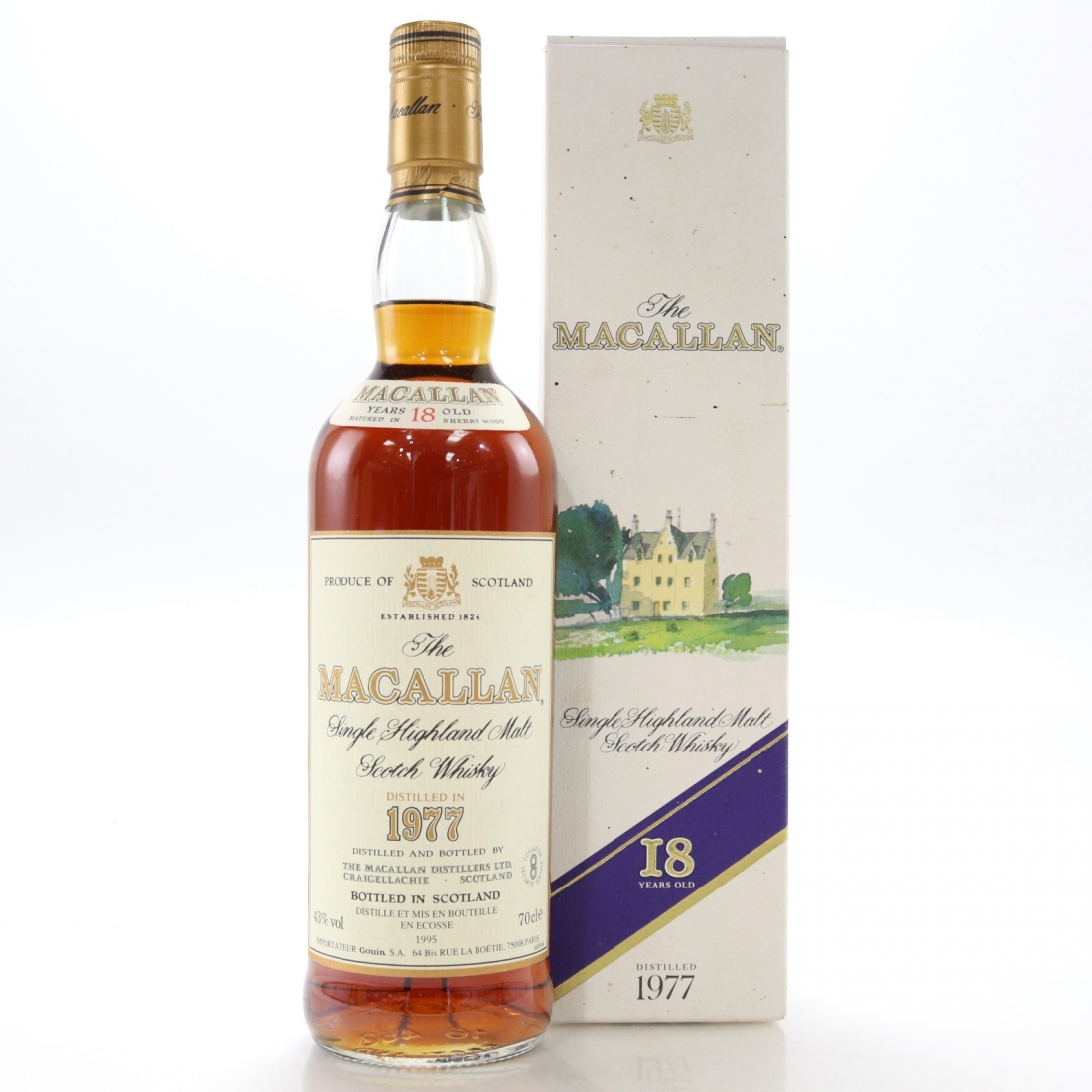 Macallan 1977 18 Year Old / Gouin Import