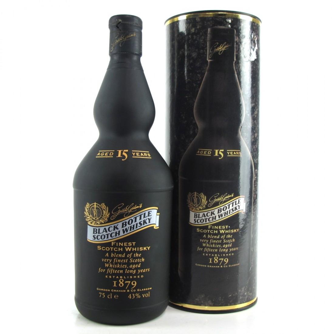 Black Bottle 15 Year Old 1980s