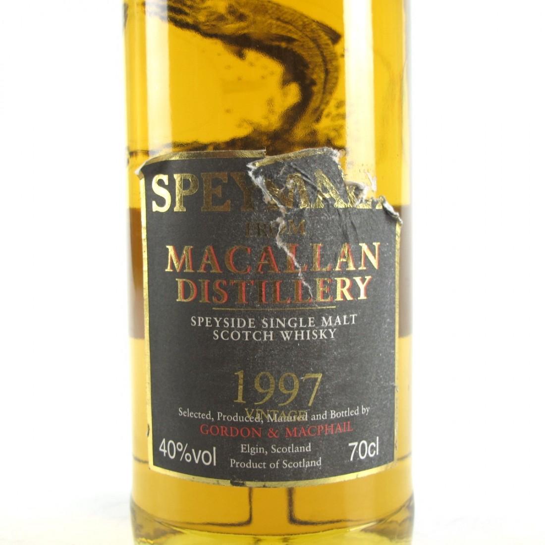 Macallan 1997 Speymalt Gordon and MacPhail