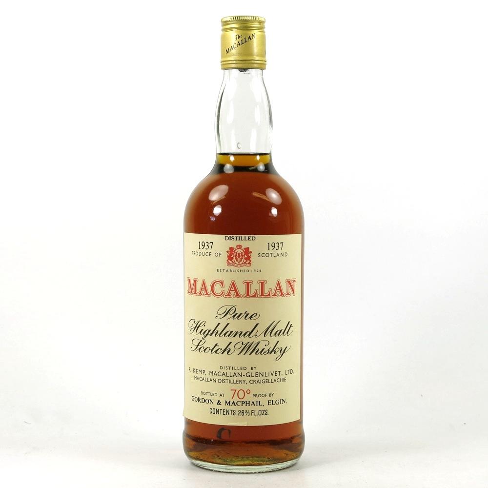 Macallan 1937 Gordon and Macphail