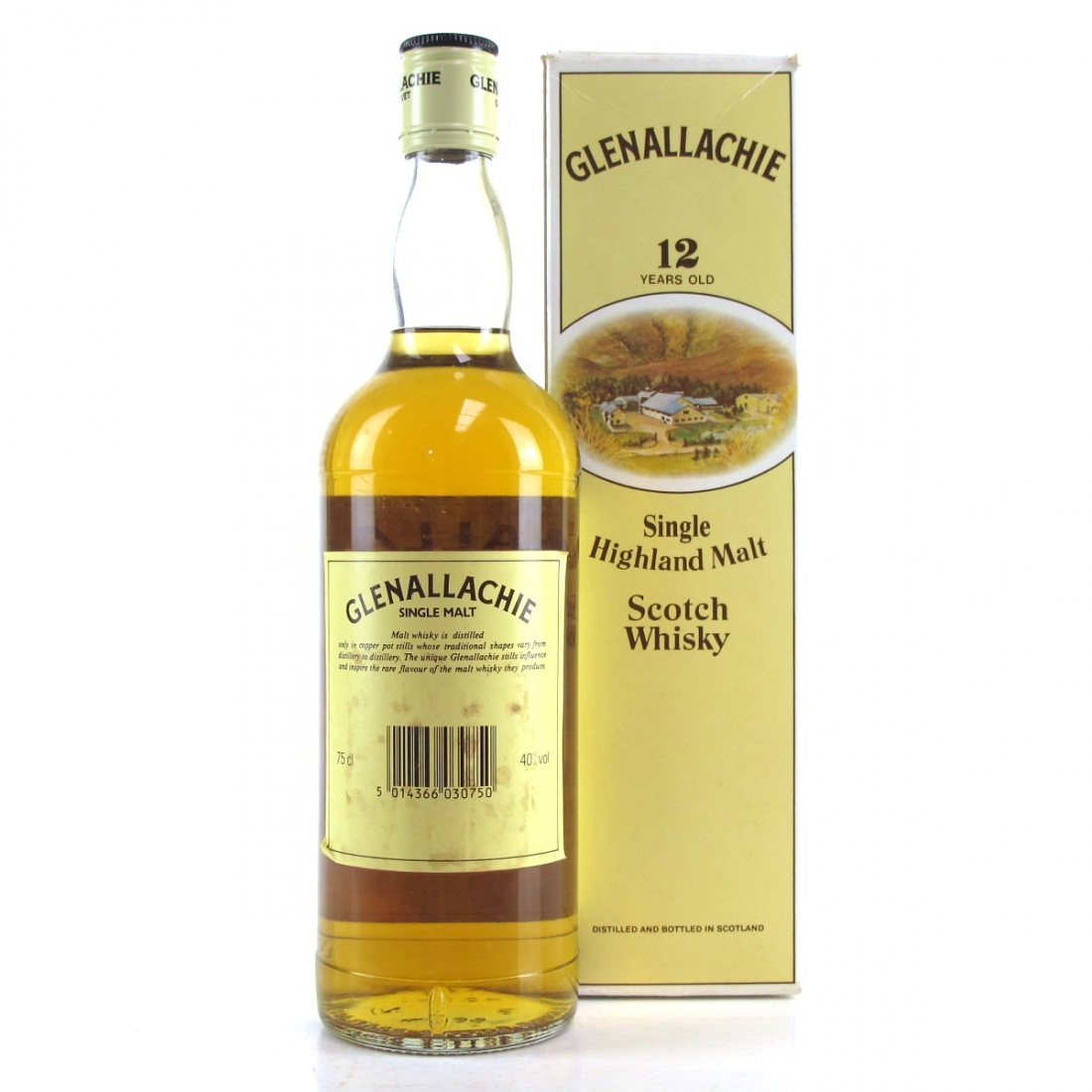Glenallachie 12 Year Old 1980s