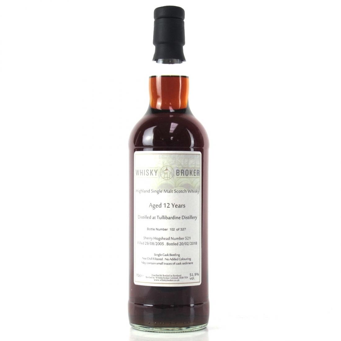 Tullibardine 2005 Whisky Broker 12 Year Old