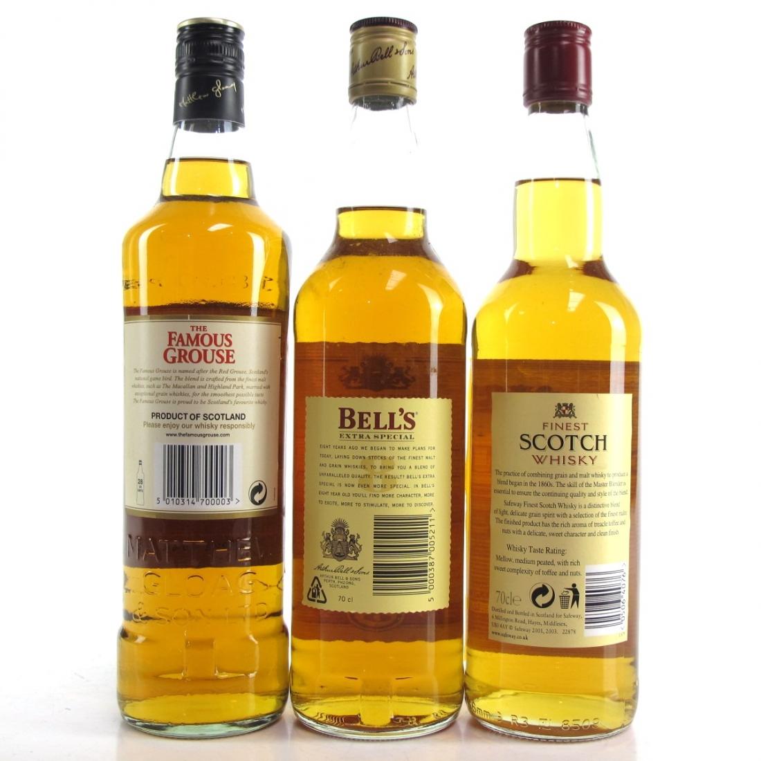 Blended Scotch Selection 3 x 70cl