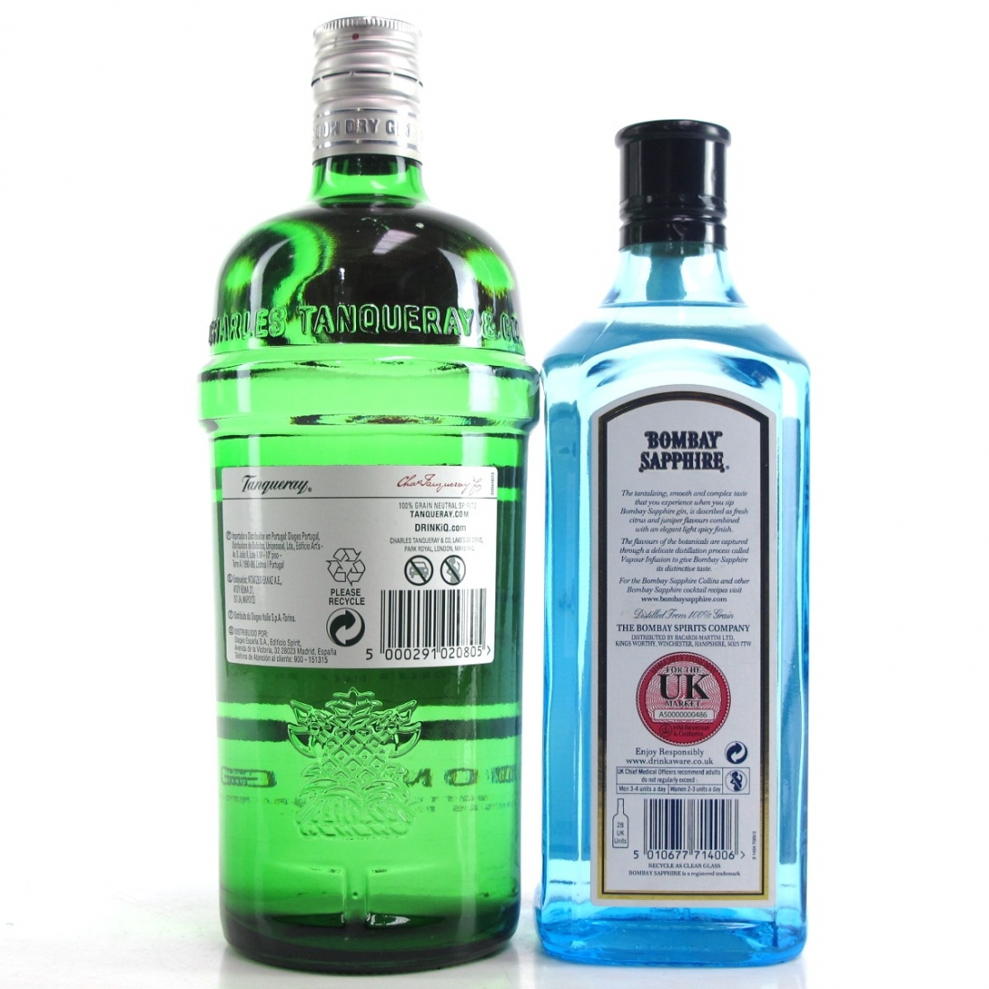 London Dry Gin Selection x 2