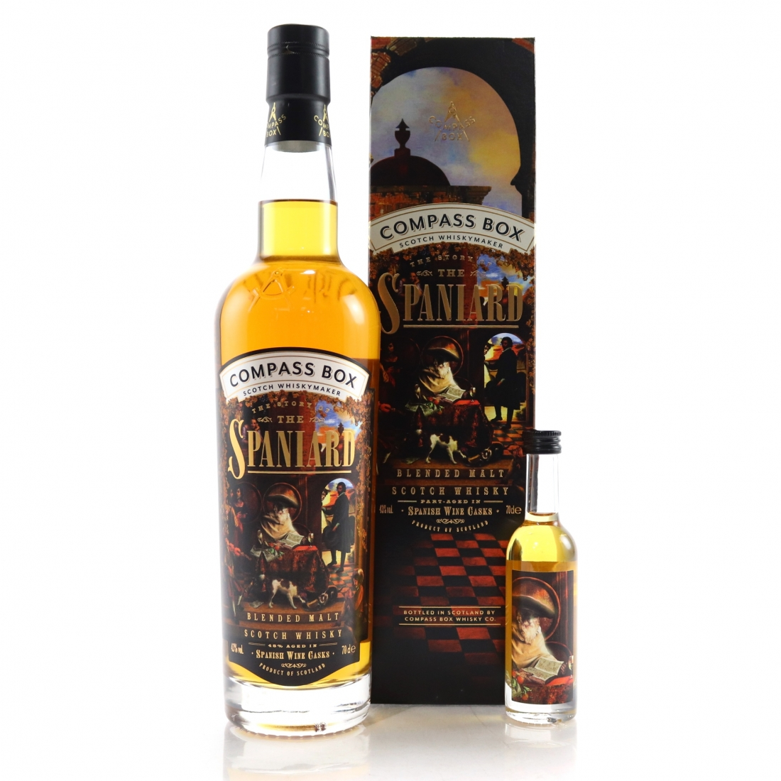 Compass Box The Story of the Spaniard / with Miniature 5cl