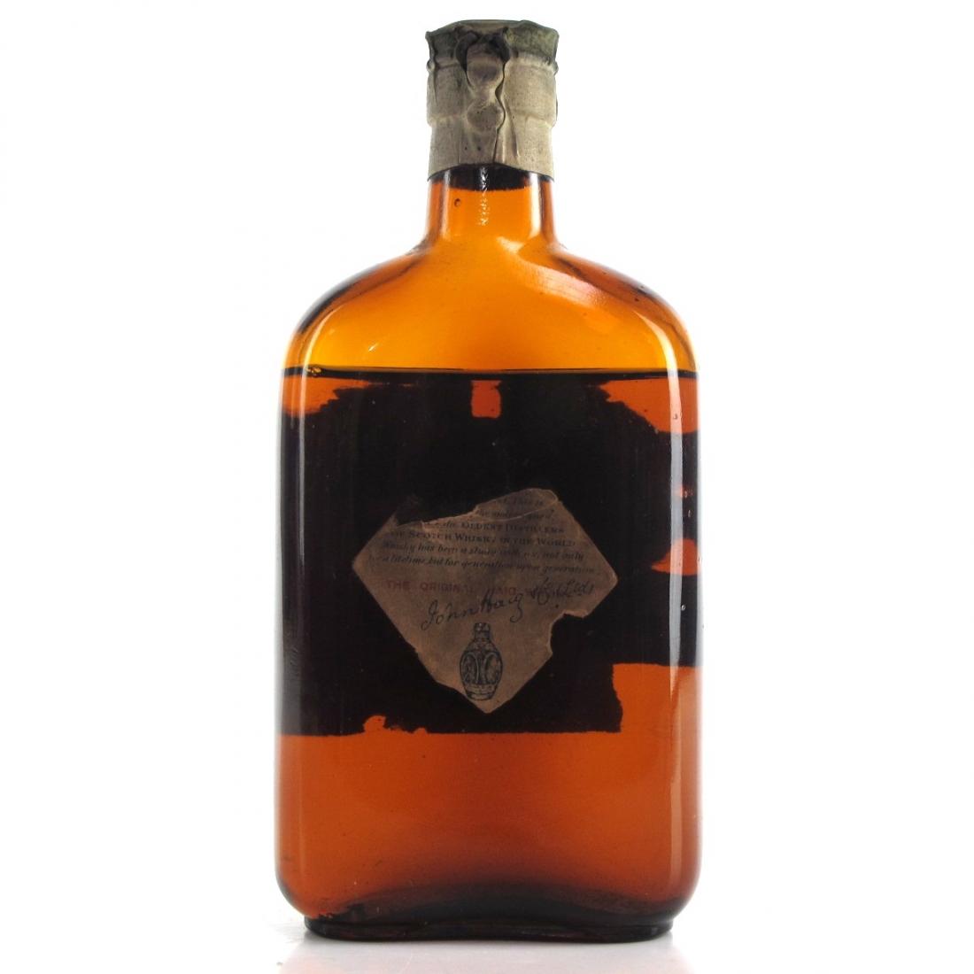 Haig Gold Label post-1936 Half Bottle