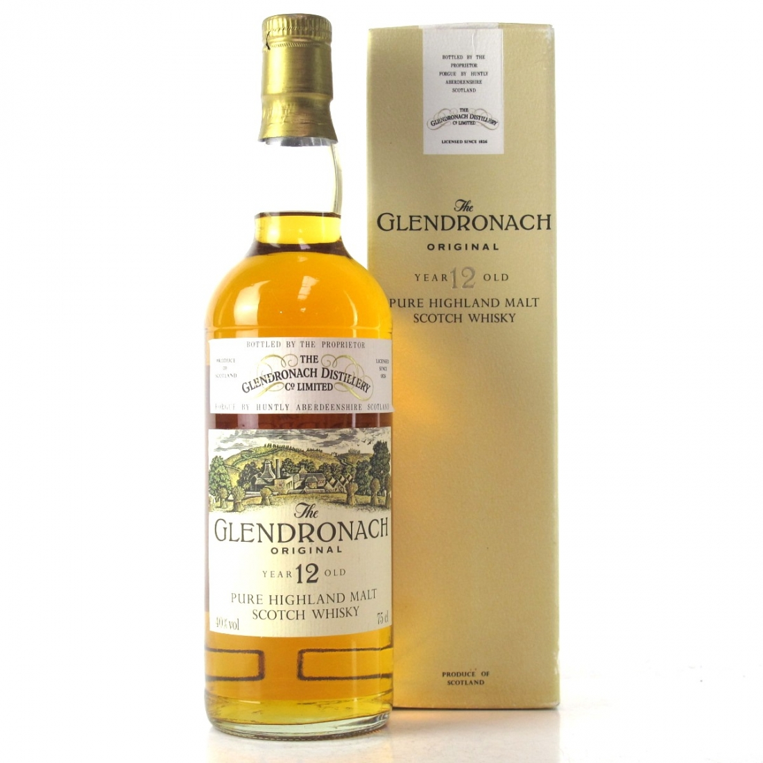 Glendronach 12 Year Old 1980s