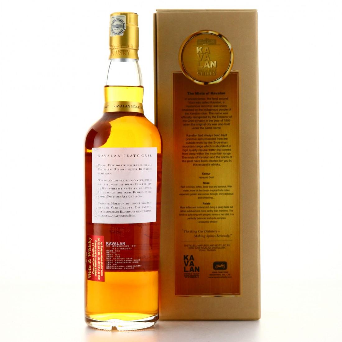 Kavalan Cask Strength Peaty Cask / Whisky Herbst