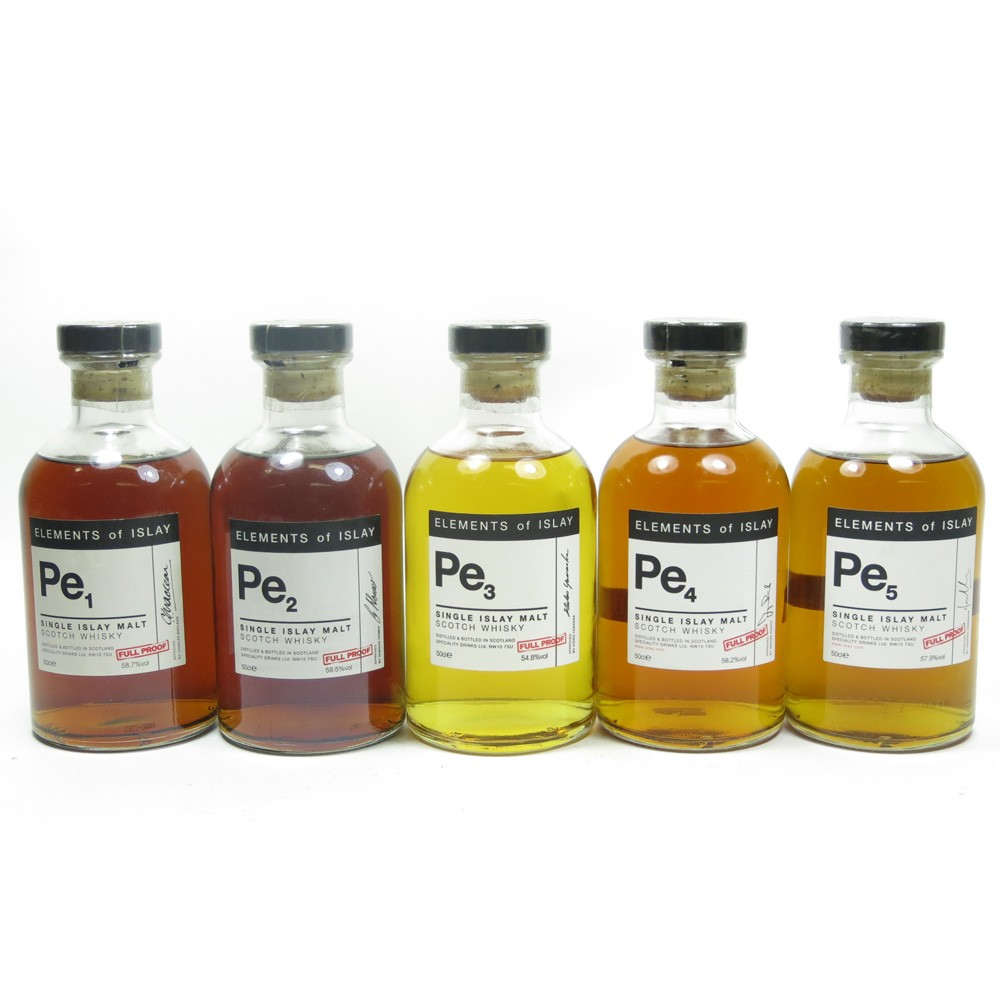 Port Ellen Elements of Islay Collection (Pe1 / Pe2 /Pe3 /Pe4 /Pe5)