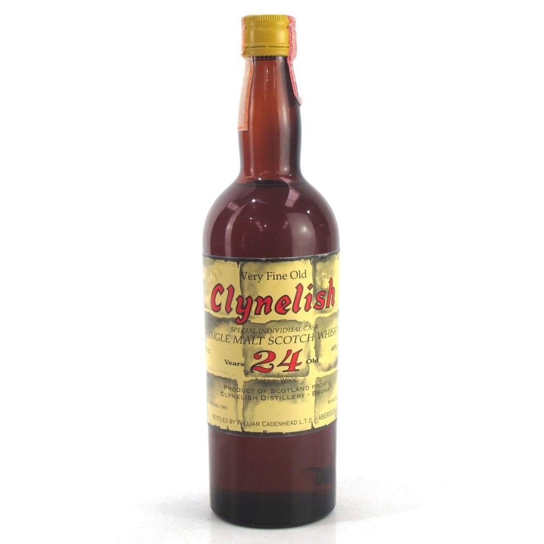 Clynelish 1965 Sestante 'Brick Label' 24 Years Old