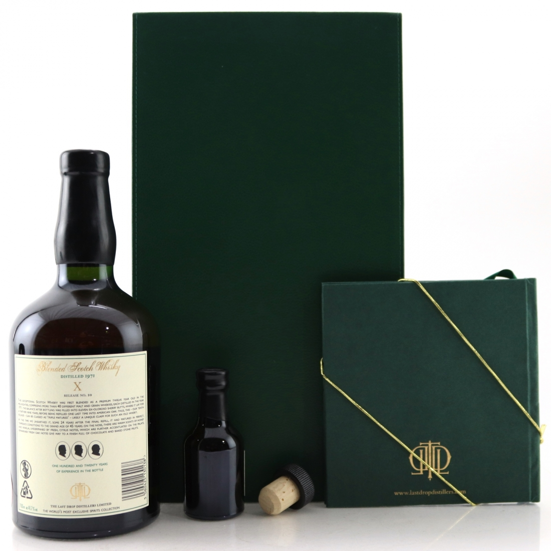 The Last Drop 1971 Blend / with Miniature 5cl