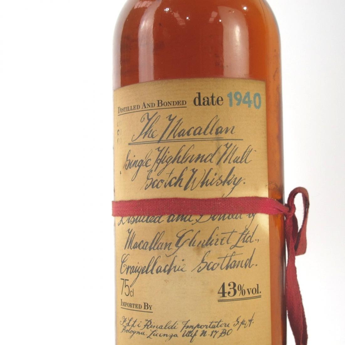 Macallan 1940 / Rinaldi Import