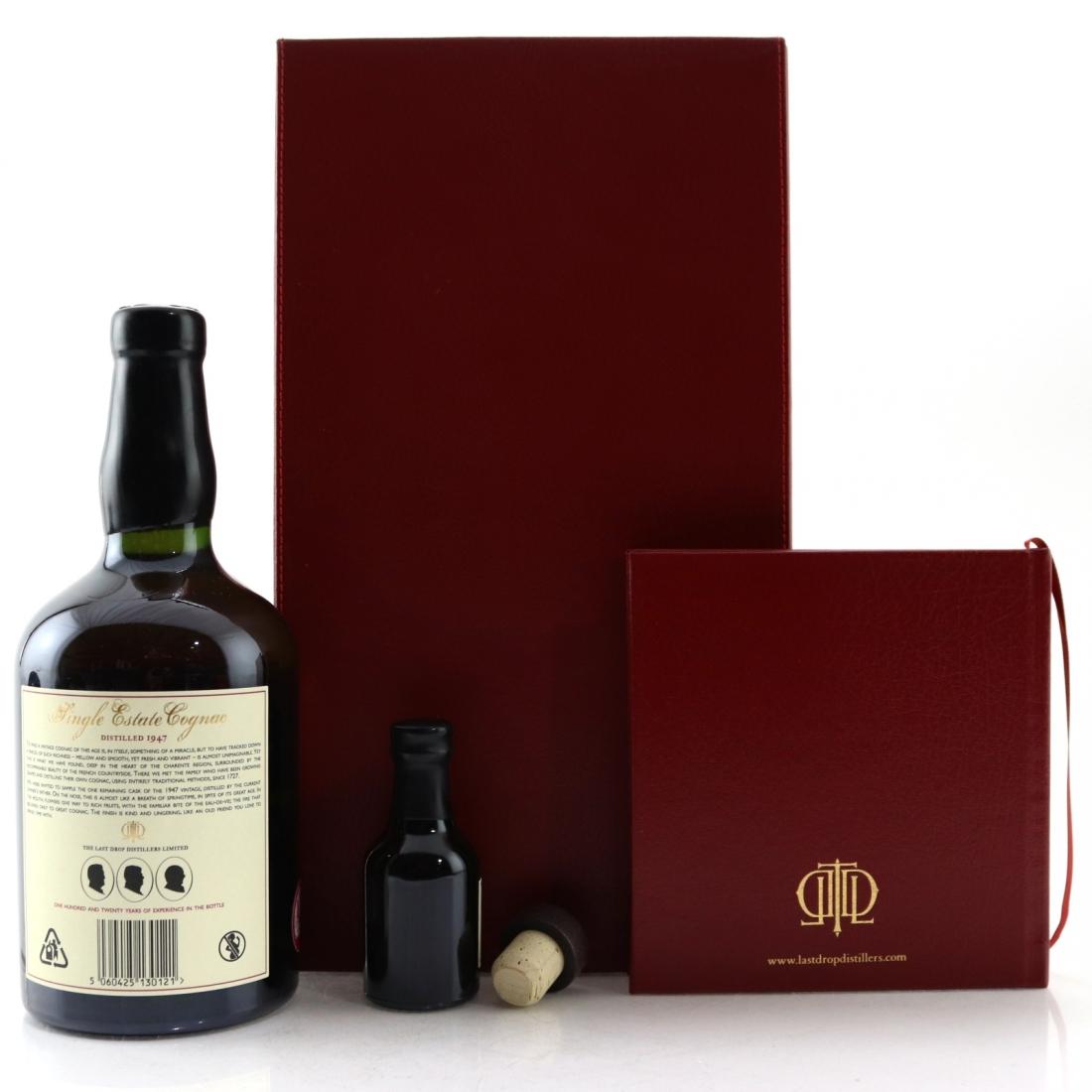 The Last Drop 1947 Hors d'Age Cognac / with Miniature 5cl