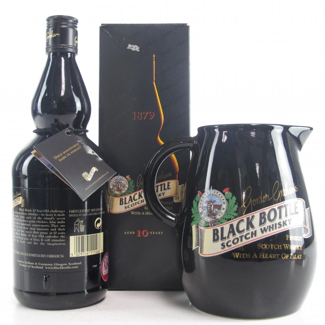 Black Bottle 10 Year Old / Including Branded Water Jug