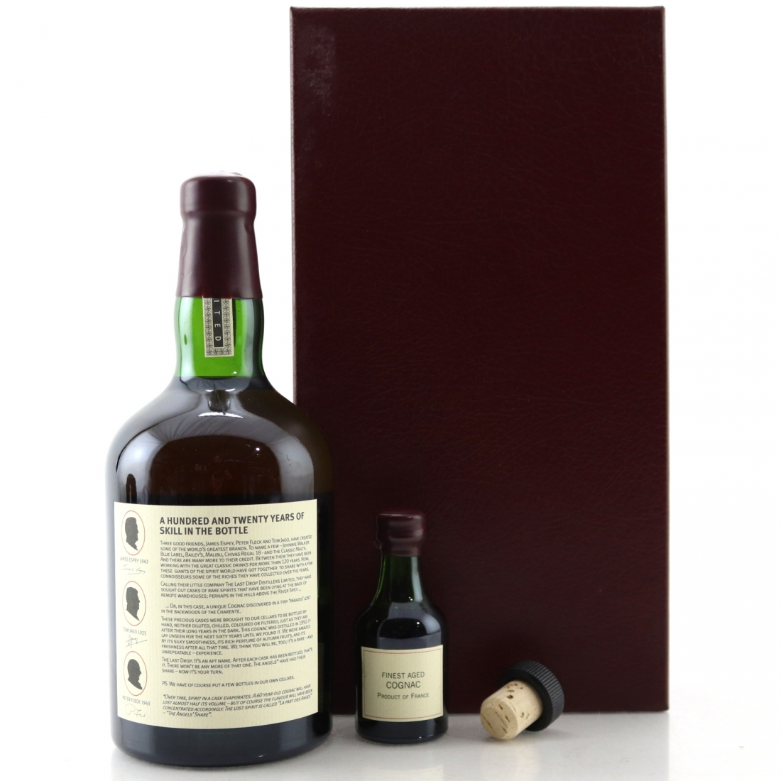 The Last Drop 1950 Cognac / with Miniature 5cl