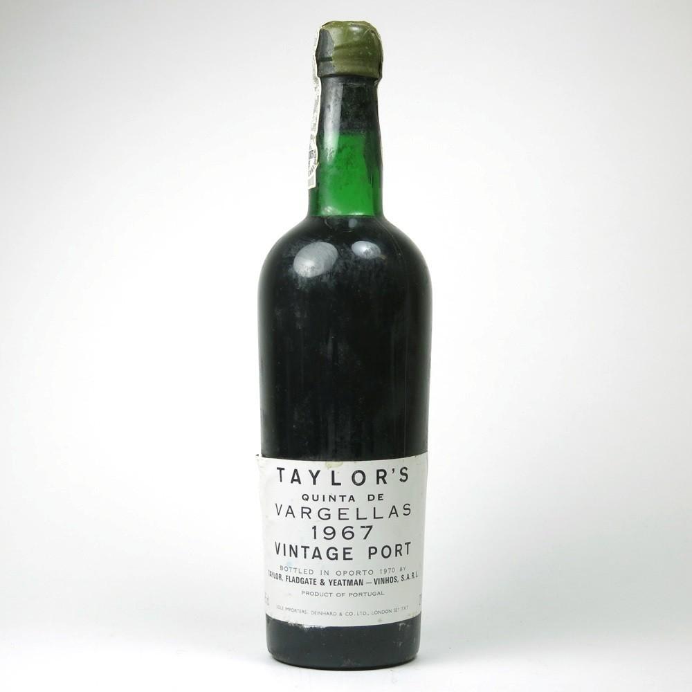 Taylor's Quinta De Vargellas 1967 Vintage Port 75cl x 3