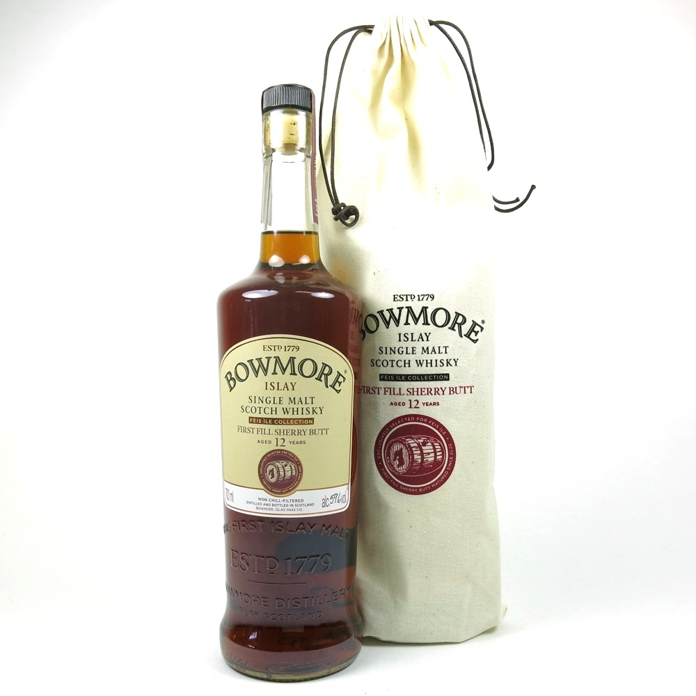 Bowmore 12 Year Old Feis Ile 2015 / Hand Filled