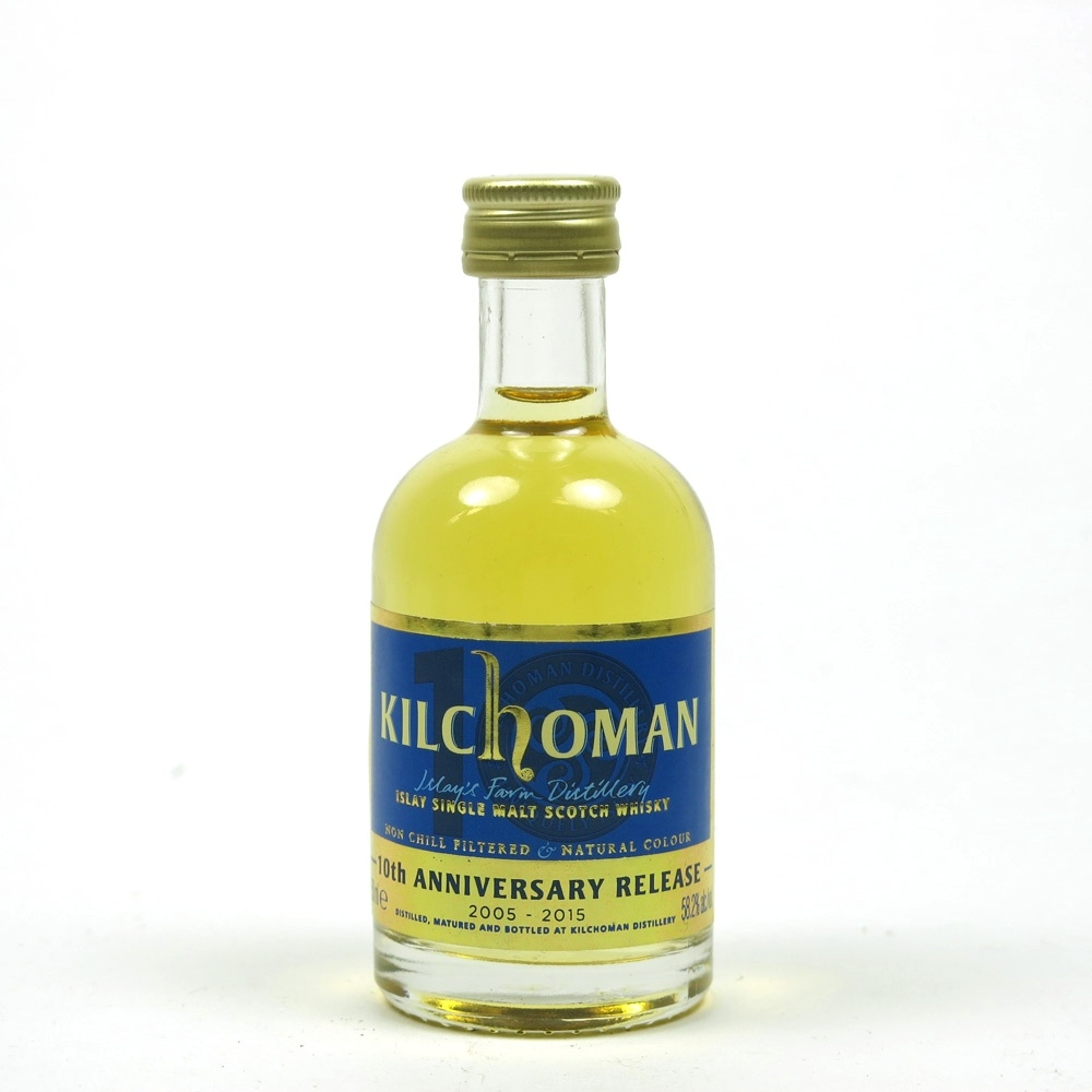 Kilchoman 10th Anniversary 5cl
