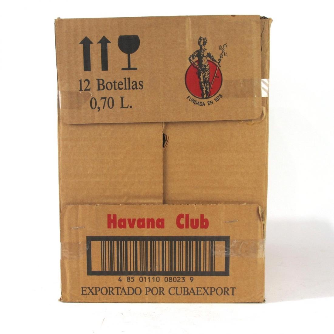 Havana Club 3 Year Old 12 x 70cl / Case