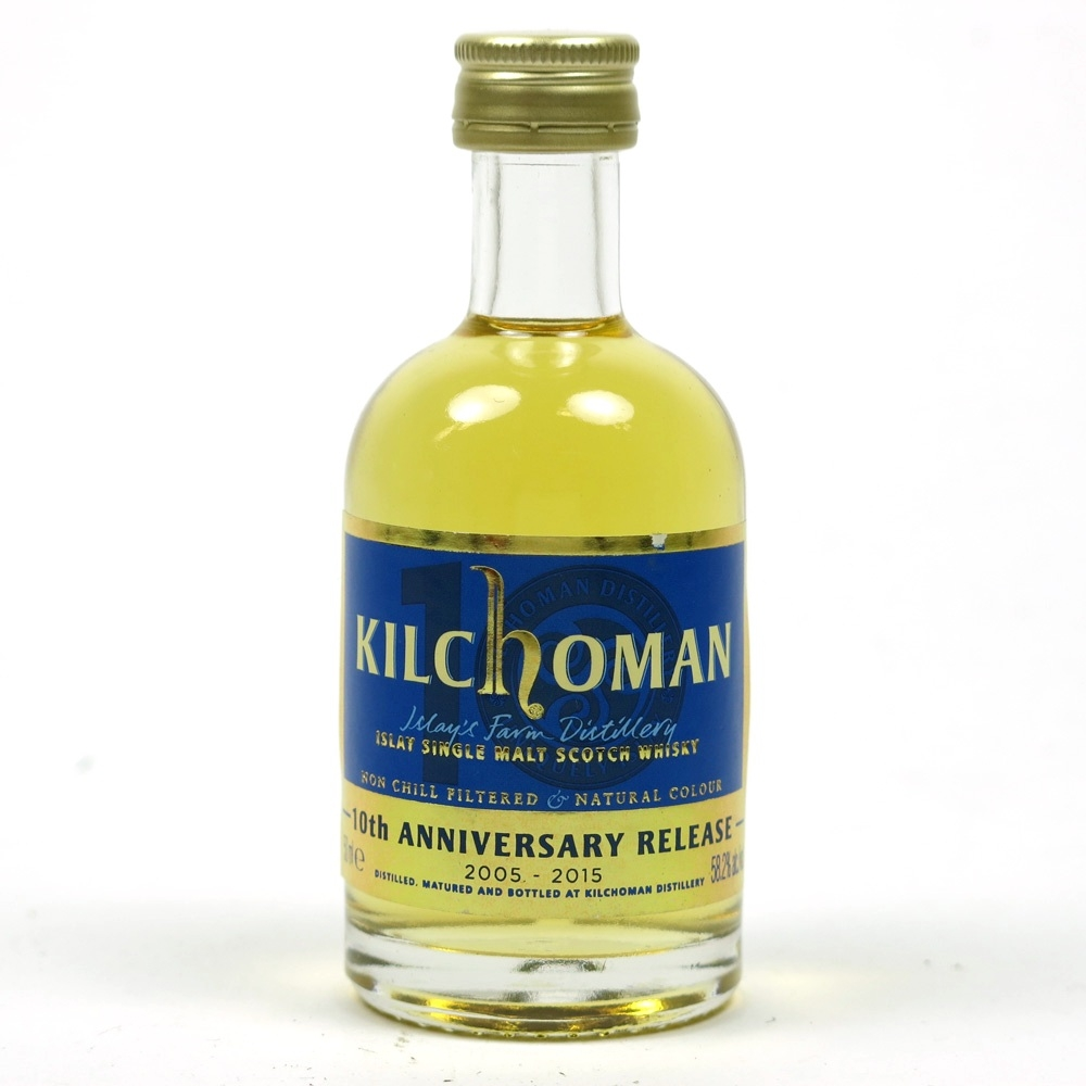 Kilchoman 10th Anniversary 5cl